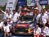 Citroën Racing - WRC 2011 - Rally Mexico - Podium