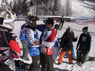 Teaser Snowscoot Worlds 2011