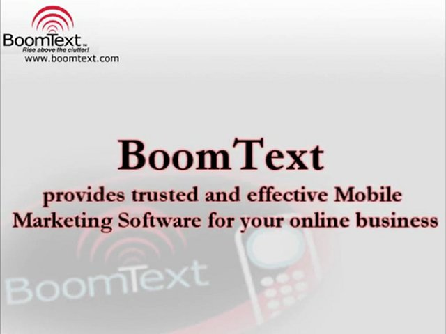 Effective Mobile Marketing Software
