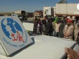 [TSF] Euronews - Refugees flee Libyan unrest - 2011