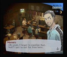 Persona 3 - 08/22 et 23 - Mamoru (2) Le stylo plume