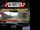Rallye Pays Avallonnais 2011 - ES5 Saint Brancher