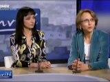 """Maria de MEDEIROS  """"Vive les lycées français à l'étranger"""" 08/04/10"""