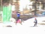 ski joering avec maman et aubin orcières mars 2011