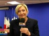 Radio J annule une interview de Marine Le Pen