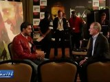 Aishwarya RAI & Abhishek BACHCHAN : EXCLUSIVE INTERVIEW FOR RAAVAN in Cannes film festival
