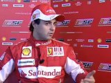 F1, GP Turchia 2010: Intervista a Felipe Massa