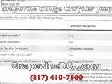 Grapevine Chrysler Jeep Dodge Zero Complaints