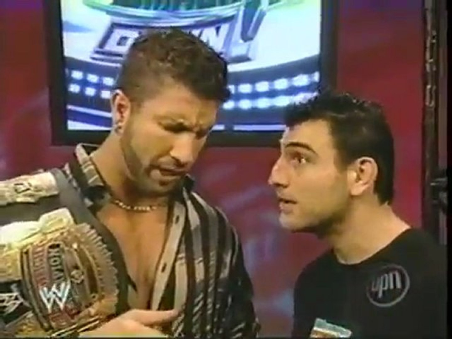 Gregory Helms and Nunzio confrontation (Smackdown 2.3.2006)