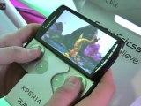 Sony Ericsson à la conquête des gamers avec son Xperia Play