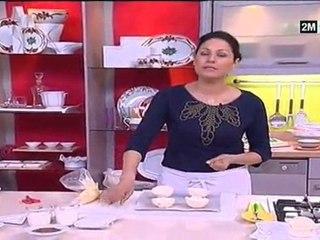 halawiyat Choumicha - gateau pas cher : recette meringue farcie