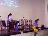 adorando a Deus com Dança