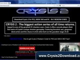 Download Crysis 2 Keygen For Xbox 360, PS3 and PC For Free