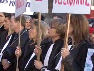 Zoom actu : Grève des magistrats à Grenoble