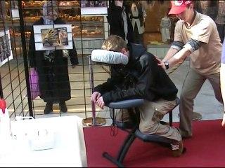 Bien être Kiné - Massages assis - Galerie Courier - Annecy