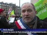 Fukushima: les anti-nucléaires donnent de la voix à Paris