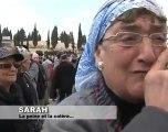 Sarah, la peine et la colère après le massacre ditamar
