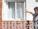 Proteccion ventana red seguridad negra Northlands