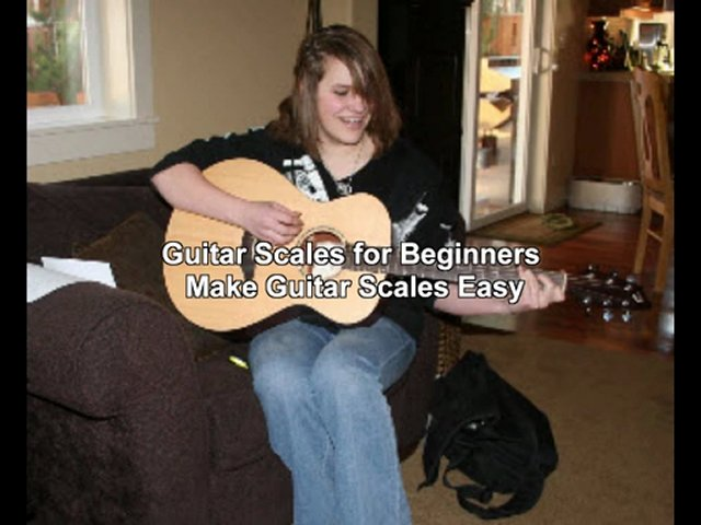 free guitar scales chart