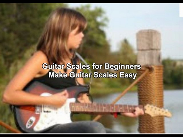learning guitar scales