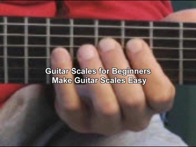 guitar scales lesson