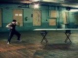 Ninja Ping Pong ( Ping Pong With Nunchucks )