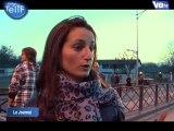 Les riverains du campement de Roms manifestent (Sarcelles)