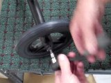 How to Change the Wheel of a Knee / Seated Scooter
