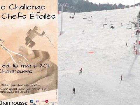 France Bleu Isère - Chamrousse - Challenge des chefs étoilés