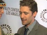 Matthew Morrison at PaleyFest 2011 - Extra tv interview