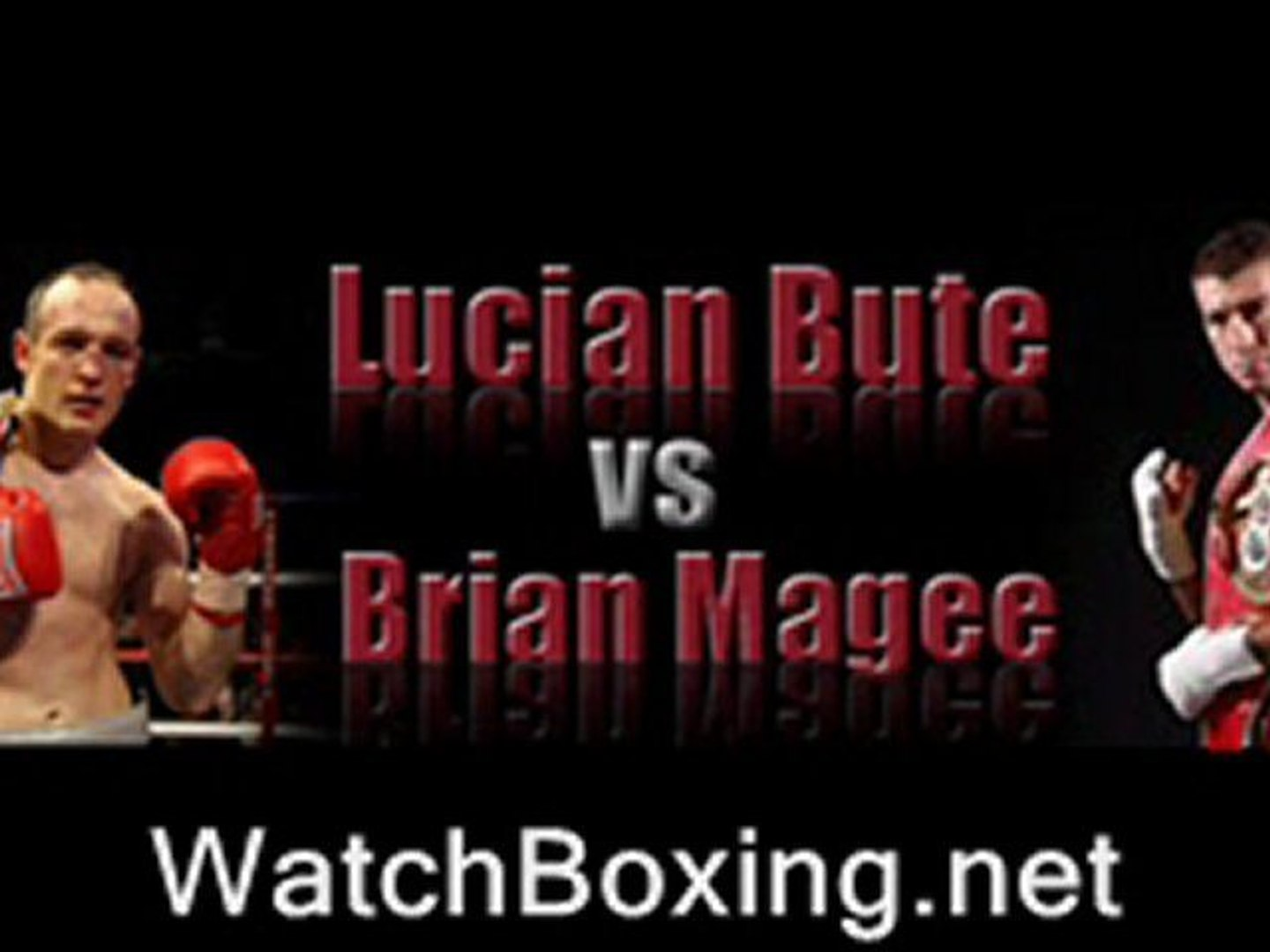 watch Lucian Bute vs Brian Magee pay per view boxing live stream online