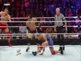 Santino Marella/Vladimir Kozlov vs The Usos (WWE Superstars 3/17/11)