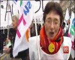 19 mars 2011 - manifestation nationale contre les suppressions de postes dans l'éducation nationale