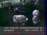 Bande Annonce De la Série Les Fables Geométriques3 Décembre 1992 Canal+
