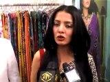 Celina Jaitley Admits Her Comfort In Wearing Saris - Bollywood News