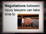 Injury Lawyer Explains Lawsuit Timeline