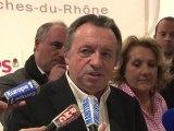 """Cantonales 2011 : """"j'appelle à faire barrage au FN dans les Bouches-du-Rhône"""" Guérini (PS)"""