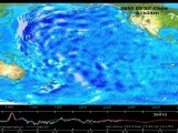 Animation after Chile Earthquake of Tsunami across Pacific
