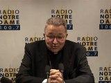 Entretien du Cardinal - Radio Notre Dame - 19/03/2011