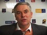 Retrouvez les interviews aprés le match contre Pau Lacq Orthez
