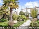 Elégante demeure du XVIIIème à Saint Martin - Île de Ré