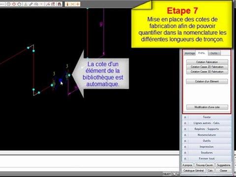 Isolines - L'isomètrique industrielle pour AutoCAD