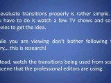 Video Transitions And Their Importance In Evaluating Video Editing Software