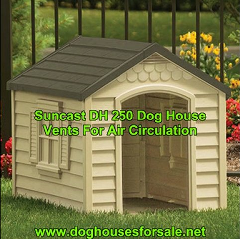 Suncast Dog House: Easy Snap Assembly…