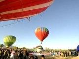 Un vol de montgolfières annonce le printemps au Mexique