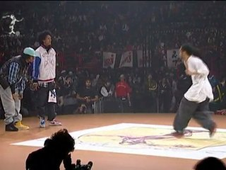 Les Twins : Hip-hop battle at Juste Debout