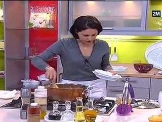 Les gâteaux de Choumicha - dessert brioche au fraise ananas et poulet au four
