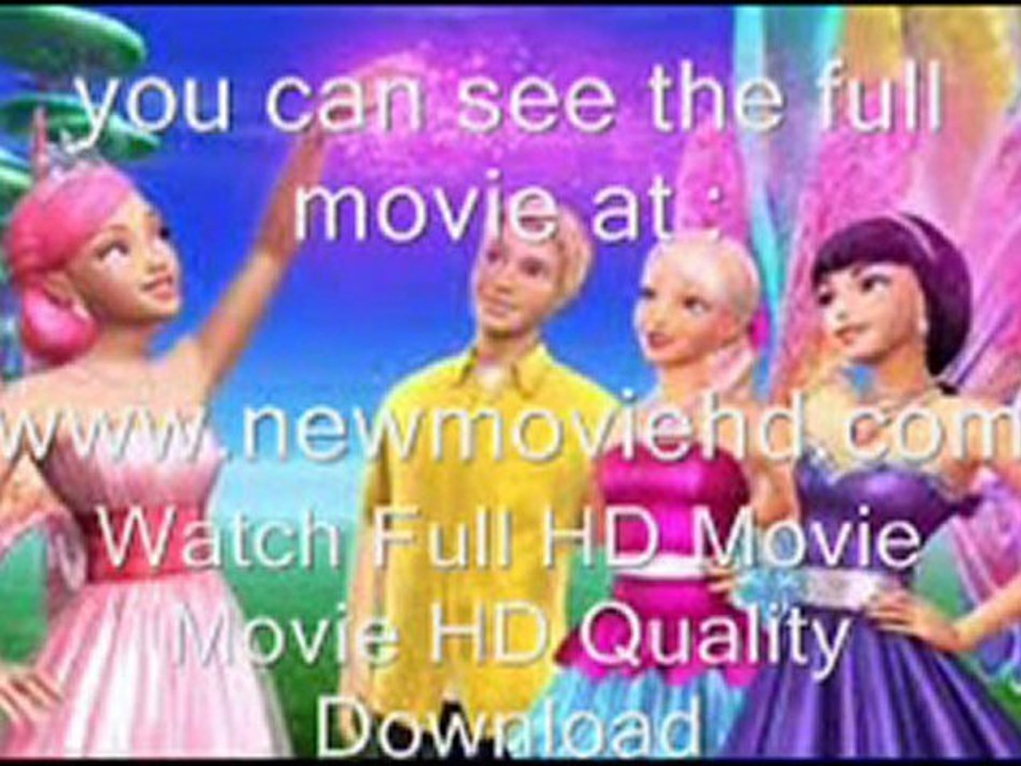 Barbie A Fairy Secret Watch Movie