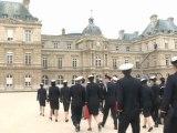 Le Sénat a accueilli les élèves officiers des grandes écoles militaires