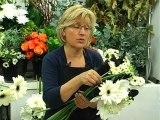 Composition d'un bouquet Noir & Blanc avec les Ateliers d'Aquarelle